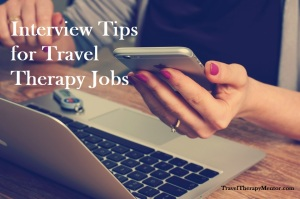 Interview tips for travel therapy jobs post picture