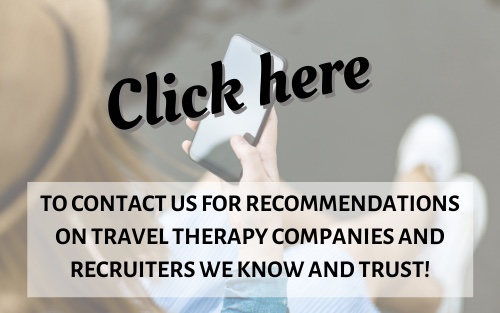 Travel Therapy Recruiter Recommendations